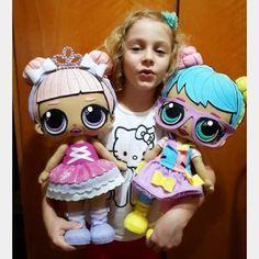 Boneca lol surprise com molde para imprimir - Lol - Felt Patterns Free, Fox Toys, Baby Mobile, Doll Party, Sewing Dolls, Lol Dolls, Doll Maker, Birthday Diy, Diy Doll