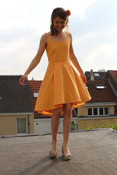 Hanging out with Flora on the roof - belgian seams