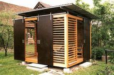 Die Grundlagen-Schritte für den Bau eines Holz-Garten Schuppen