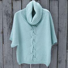 Купить Герда пуловер вязаный женский - пуловер, пуловер вязаный, шерстяной пуловер, пуловер спицами