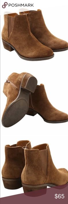 New with Box Kensie Booties Brand new brown suede leather booties from Kensie! Super chic and cute! Kensie Shoes Ankle Boots & Booties
