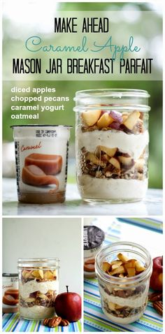 Caramle Apple Parfait | thetwobiteclub.com | #yogurtperfection #makeahead #healthy #ad