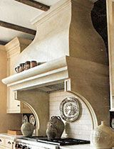 Stone Kitchen Hoods - traditional - kitchen hoods and vents - other metro - Stone Solutions and Kitchen Hood Design, Kitchen Vent Hood, Kitchen Designs, Kitchen Ideas, Range Hood Vent, Range Hoods, Stone Mantel, Traditional Kitchen, Stone Kitchen