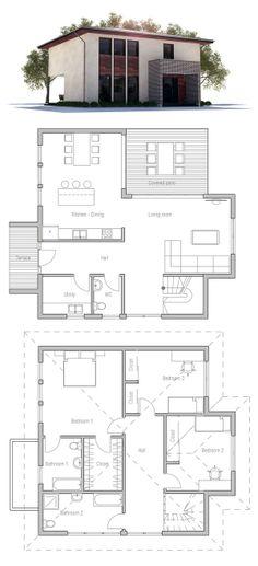 Small lot homes narrow block designs brisbane modern for Minimalist house plans narrow lot
