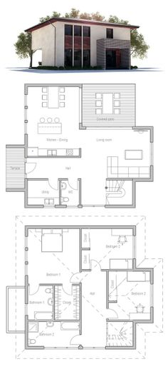 House Plan to Small Lot
