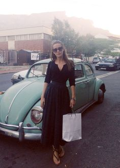 love the dress AND the car