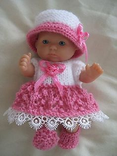 """#Knitting pattern to make #outfit for 5"""" #berenguer doll,  View more on the LINK: http://www.zeppy.io/product/gb/2/152066512816/"""