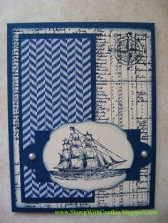Open Sea for Father's Day by Cynthia<>< - Cards and Paper Crafts at Splitcoaststampers