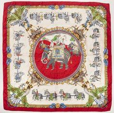 43b6bf20b891 47 Best HERMES Central images   Hermes scarves, Silk scarves, Scarf ...