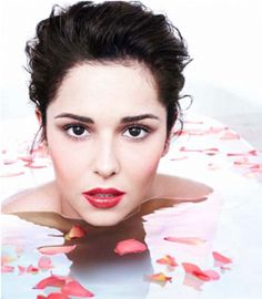 Cheryl Cole Is A Classic English Rose in Petal Bath Tub In Her New Campaign For L'Oreal | Grazia Beauty