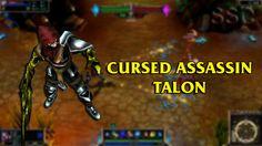 Cursed Assassin Talon LoL Custom Skin ShowCase