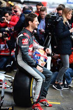 Formel 1 2016, Präsentationen, Romain Grosjean, Haas F1 Team, Bild: Sutton