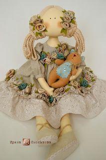 Linda boneca de Irina...
