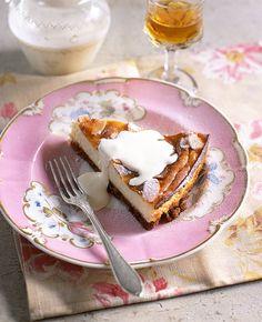 Italian almond cheesecake - delicious. magazine