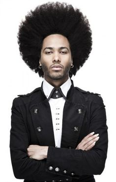men's black & afro hairstyles
