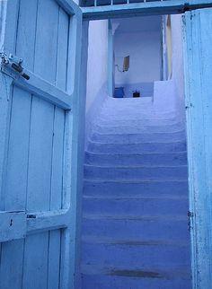 with door