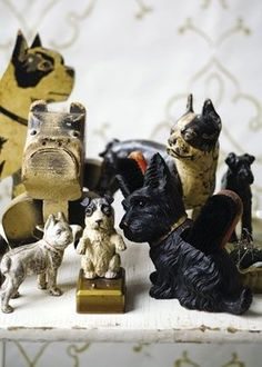 vintage dog collection: