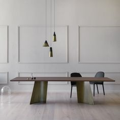 Rectangular table MAGGESE by Miniforms design Paolo Cappello