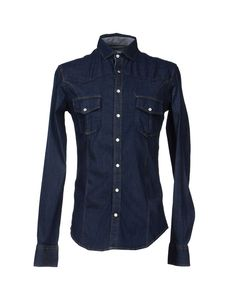 ac5cfeee79 D.R Shirt Denim Shirt - Men D.R Shirt Denim Shirts online on YOOX United  Kingdom