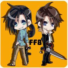 Laguna & Squall (Final Fantasy VIII) #ff8