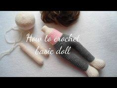 How to Crochet a Basic Doll - Crochet Ideas