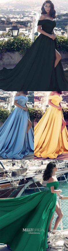 Long Prom Dresses with Slit,Light Sky Blue Formal Evneing Dresses,Modest Military Ball Dresses Princess,Cheap Quinceanera Dresses Off-the-shoulder,Simple Pageant Graduation Dresses Satin Modest Formal Dresses, Sparkly Prom Dresses, Strapless Prom Dresses, Affordable Prom Dresses, Simple Prom Dress, Formal Dresses For Teens, Elegant Prom Dresses, Unique Prom Dresses, Beautiful Prom Dresses