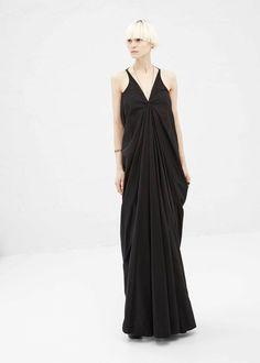 Rick Owens Aurora Dress (Black) //Manbo