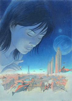 Couverture de l'album « Revoir Paris », Schuiten-Peeters, 2014.