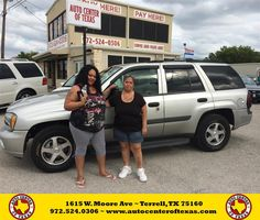 https://flic.kr/p/yD5B1s | Happy Anniversary to Ester on your #Chevrolet #TrailBlazer from Fidel Rodriguez at Auto Center of Texas! | deliverymaxx.com/DealerReviews.aspx?DealerCode=QZQH