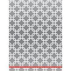 Wallpaper - White & Silver Mylar Geometric Squares Velvet Flocked Wallcovering - Burke Decor - white, silver, geometric, wallpaper