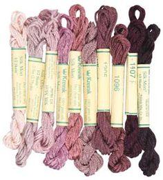 ROSE KREINIK SILK COLLECTION silk mori, stranded silk