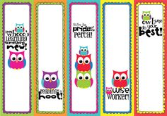 bookmarks! I love owls