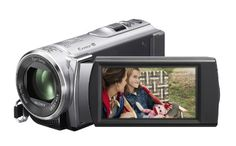 Black Friday 2014 Sony HDR-CX210 High Definition Handycam 5.3 MP Camcorder with 25x Optical Zoom (Silver) (2012 Model) from Sony Cyber Monday