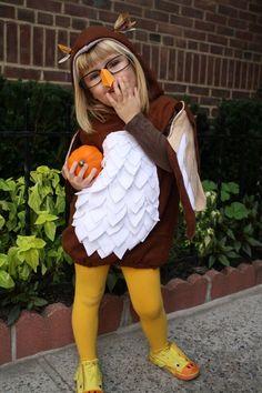 BERNINA Halloween 2011 -- Baby Wise Owl