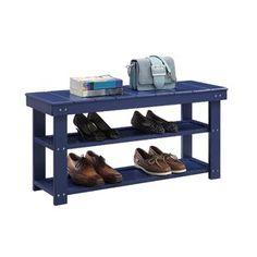 Rebrilliant Lynk® 36 Pair Overdoor Shoe Organizer | Wayfair Hallway Storage Bench, Leather Storage Bench, Storage Bench With Cushion, Leather Bench, Bench With Shoe Storage, Upholstered Storage Bench, Entryway Furniture, Shoe Organizer, Take A Seat