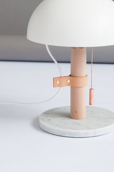 Mush marble table lamp By M.OSS