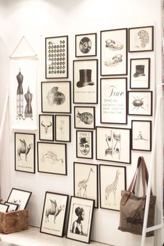 Nice arrangement of frames, shows how simple black and white can be so effective.