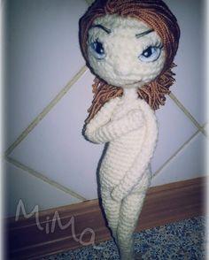 Crochet doll..