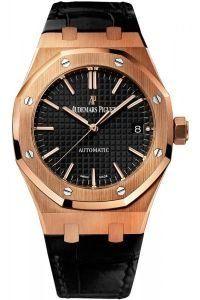 Audemars Piguet Royal Oak Automatic Black Dial Men's Watch #15450OR.OO.D002CR.01 - TimeOnMyHand
