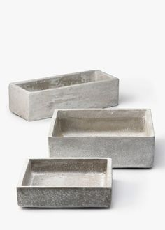 Square and Rectangular Cement Containers | Jamali Floral & Garden Supplies