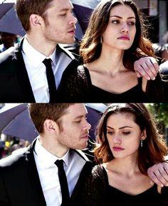 "The Originals – TV Série - Niklaus ""Klaus"" Mikaelson (Joseph Morgan) - Hayley Marshall (Phoebe Tonkin) - Klaus and Hayley"