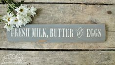 Can you guess what the wood from this sign was originally part of?  ~~~via knickoftimeinteri...