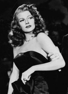 Rita Hayworth in a scene from Gilda, 1946.