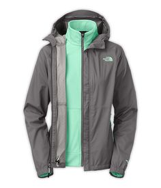 Need to replace my currect North Face jacket. The North Face Women's Jackets & Vests 3-in-1 Jackets WOMEN'S MOMENTUM TRICLIMATE®