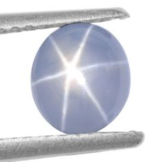 1.66 Cts Natural Amazing Blue Star Sapphire Oval Cabochon Unheated Video Burma $ #Unbranded