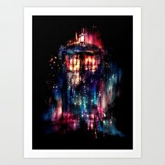 All of Time and Space Art Print by Alice X. Zhang - $15.00  (one of my favorites by Alice...she has amazing talent)