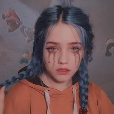 15 # Makeup # Total # for # Good # Selfies # # Makeup # # Makeup - wigs & toupee Bob Pastel, Grunge Pastel, Grunge Goth, Grunge Style, Pastel Blue, Blue Hair Black Girl, Dark Blue Hair, Blue Haired Girl, Ulzzang Girl Fashion
