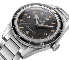 Omega Speedmaster, Seamaster, & Railmaster 1957 'Trilogy' 60th Anniversary Limited Edition Watches Watch Releases