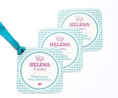 Tags de agradecimento personalizados para imprimir e usar nas lembrancinhas da festa Mini Chef ou Confeitaria!