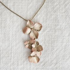 Hydrangea Necklace | North Carolina Jewelry